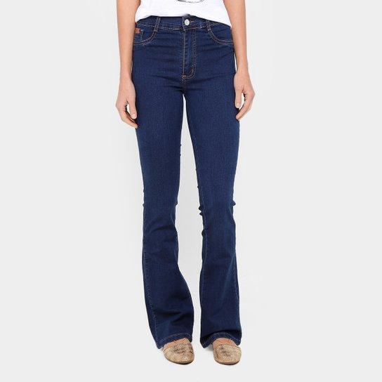 Calça Jeans Flare Sawary Cintura Alta Feminina - Compre Agora   Zattini 15161257a8