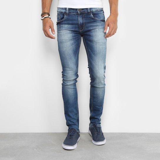 cf0b5b45f Calça Jeans Skinny Sawary Elastano Super Stone Masculina - Compre ...
