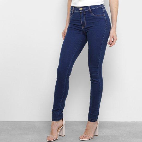 Calça Jeans Skinny Sawary Cintura Média Feminina - Compre Agora ... 4b3ac4bf49d12