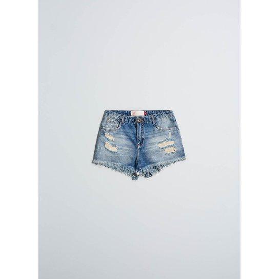 4eea87ce3 Shorts Jeans Cantão B Boy Duda Feminino - Compre Agora   Zattini