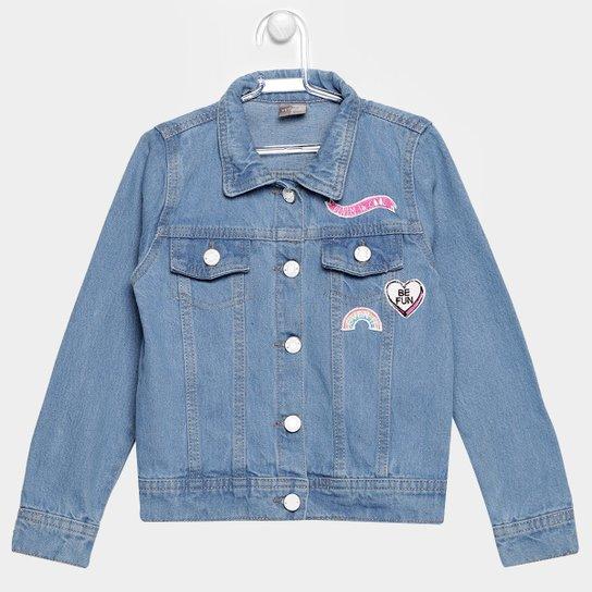 e2d7faeae9874 Jaqueta Jeans Brandili Bordado Infantil - Compre Agora