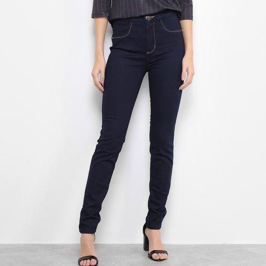 885f19ca0 Calça Jeans Skinny Lança Perfume Cintura Alta com Preenchimento Removível  Feminina - Jeans
