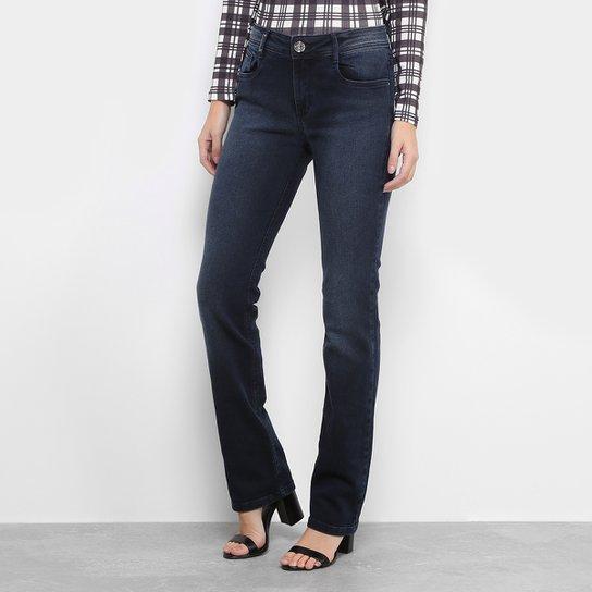 d56b7bd89 Calça Jeans Reta Lança Perfume Cintura Alta Feminina | Zattini