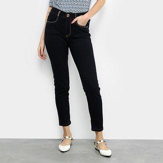 b0080e0dce2c4 Calça Jeans Cigarrete Lança Perfume Super High Feminina