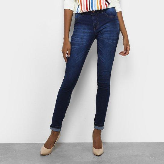 b22e95645 Calça Jeans Skinny Coffee Estonada Cintura Média Feminina | Zattini