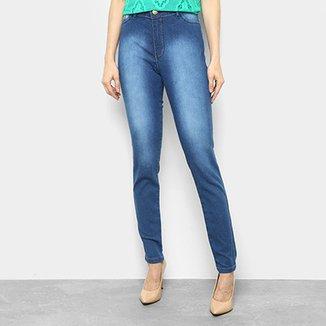 Calça Jeans Coffee Skinny Midi Feminina 5146dabec05