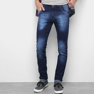 03e379f5a74 Calça Jeans Skinny Coffee Estonada Masculina