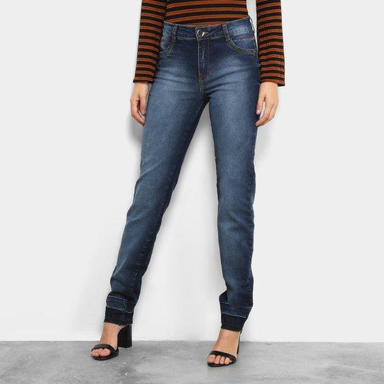 64f58508b Calça Jeans Skinny Dimy Estonada Barra Desfiada Feminina - Jeans ...