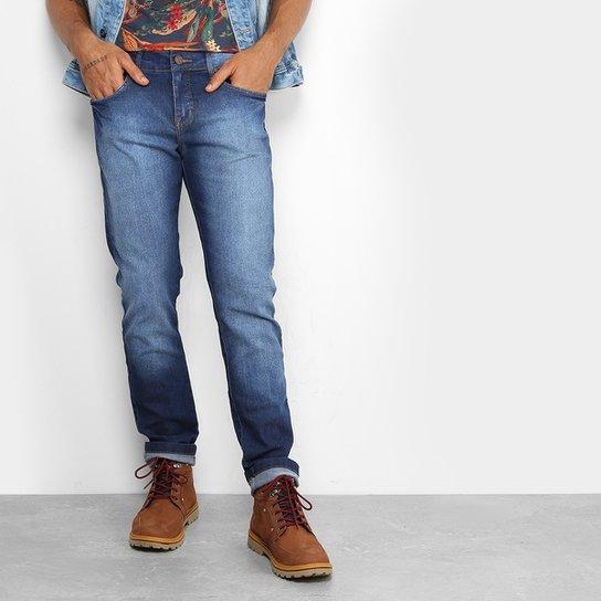 8e01b3626 Calça Jeans Skinny Redley Stone Escura Masculina   Zattini