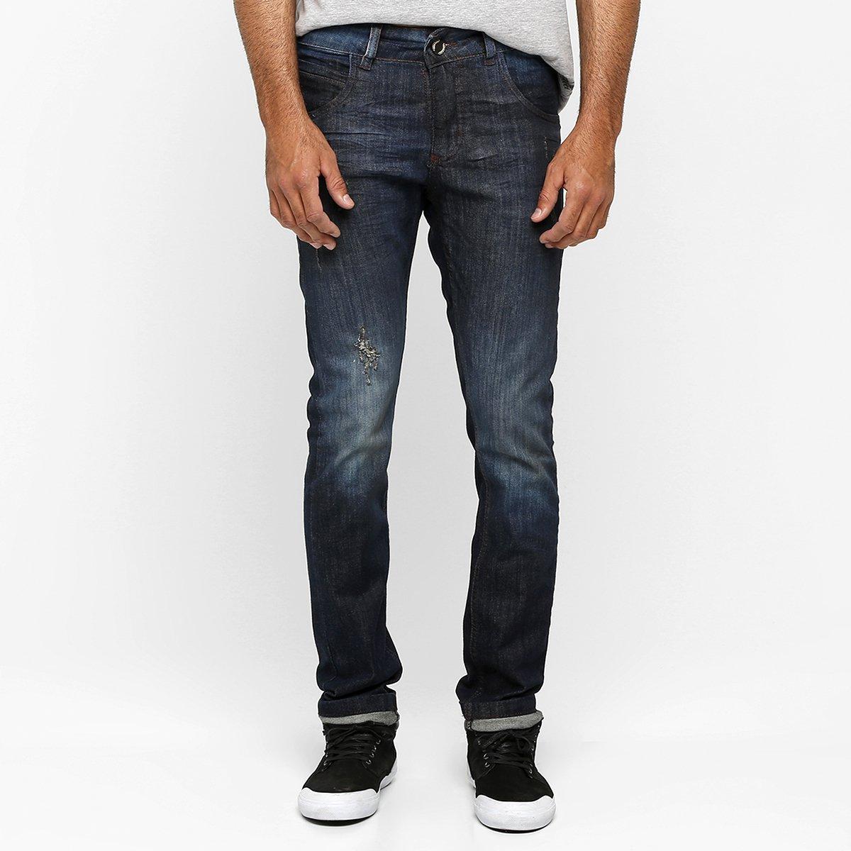 Calça Jeans Rock & Soda Skinny Puído