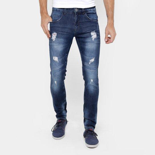 Calça Jeans Skinny Rock   Soda Rasgos Masculina - Jeans - Compre ... eb7e459a7a8c7