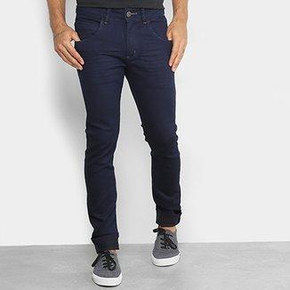 7edff732ef1 Calça Jeans Skinny Rock   Soda Lavagem Escura Masculina