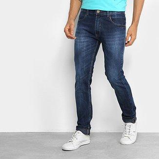 Calça Jeans Slim Fatal Estonada Masculina f67db4229c