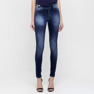 960c5b111 Calça Jeans Biotipo Botão Lateral