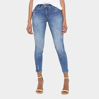 bee5258af Calça Jeans Biotipo Skinny Cintura Média Feminina