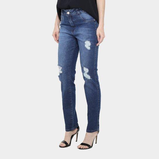 ec0739928 Calça Jeans Cigarrete Biotipo Cintura Alta Feminina | Zattini