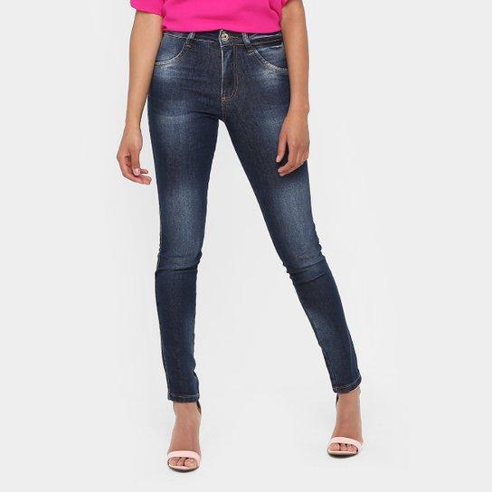 25276e736 Calça Jeans Skinny Biotipo Cintura Alta Estonada Feminina - Compre ...
