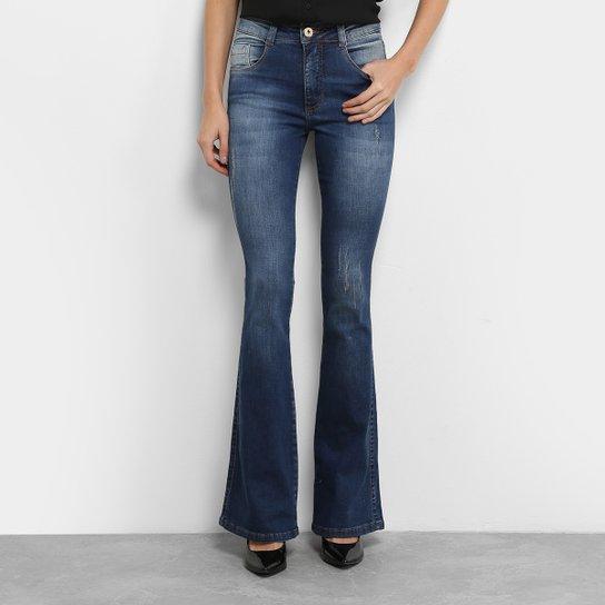 5cb3fdd42 Calça Jeans Flare Biotipo Cintura Média Feminina - Compre Agora ...
