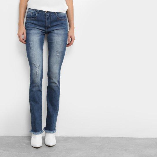 Calça Jeans Reta Biotipo Fit Cintura Média Feminina - Compre Agora ... 6022a21deaf