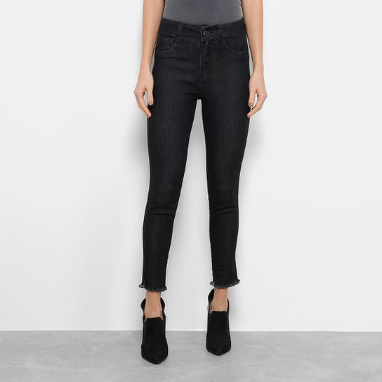 712c1fdf7 Calça Jeans Skinny Biotipo Hot Pant Cintura Alta Feminina | Zattini