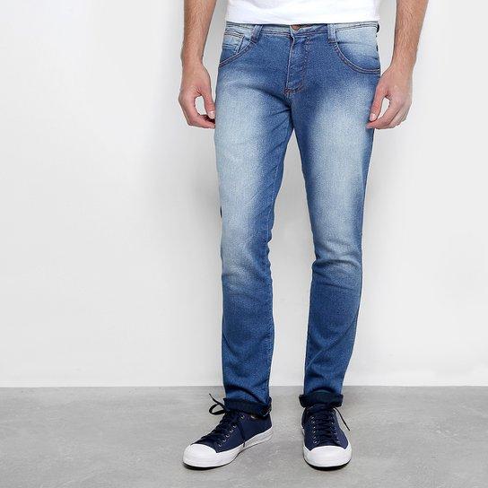 fc9b47e57ec57c Calça Jeans Skinny Biotipo Estonada Masculina - Azul