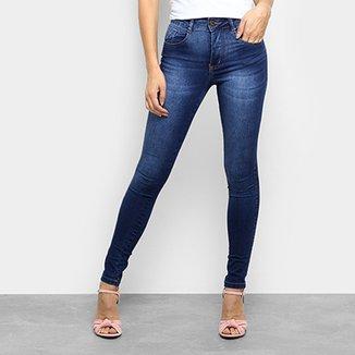 c65e5652a Calça Jeans Skinny Biotipo Estonada Cintura Média Feminina