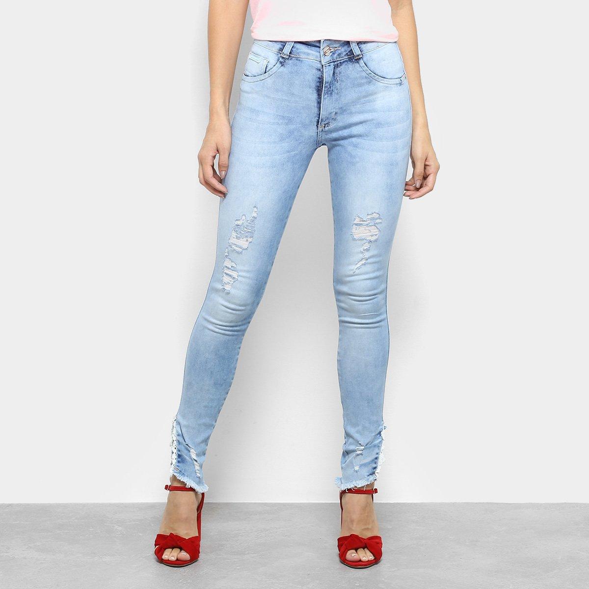 147d6d680 ... Calça Jeans Skinny Biotipo Cintura Média Feminina