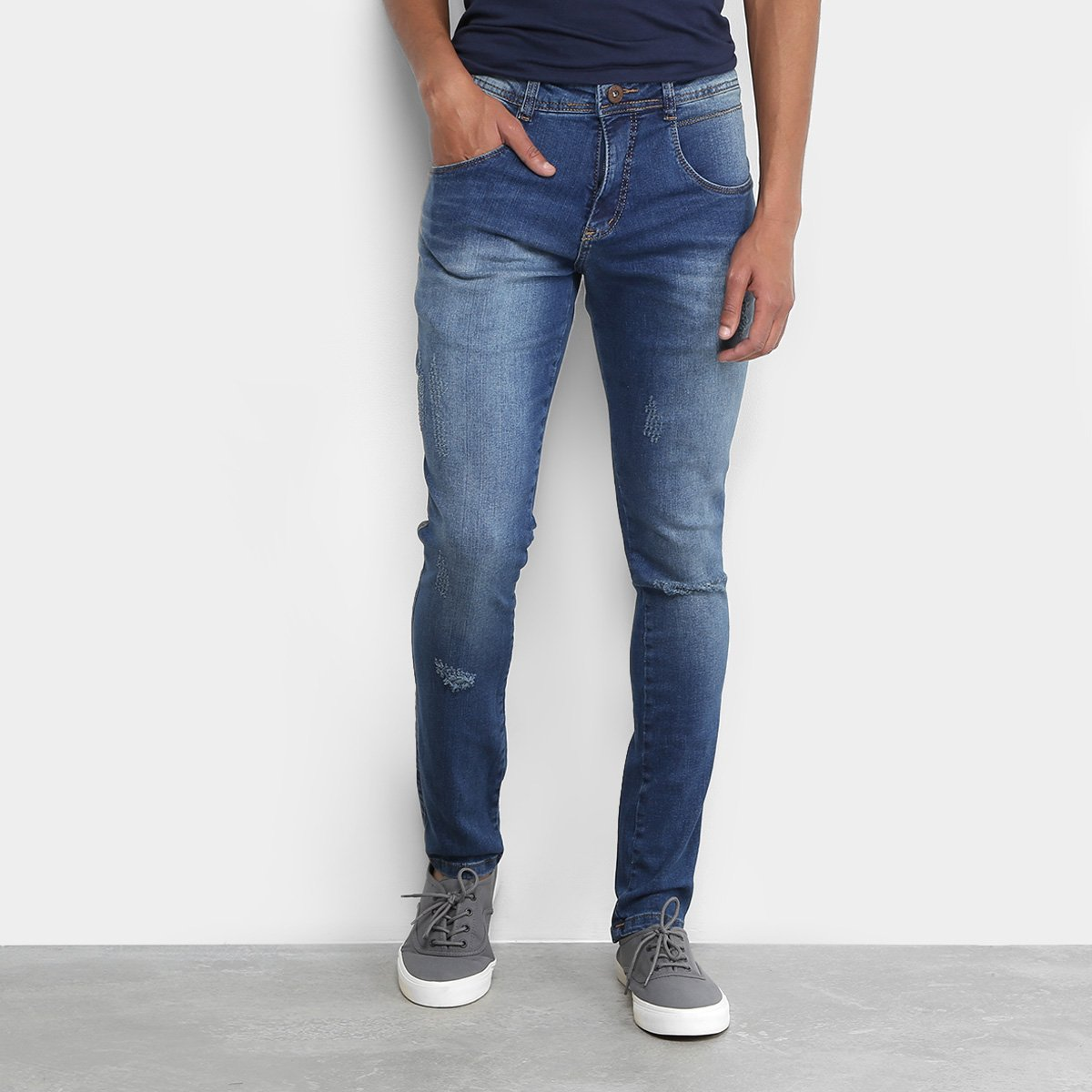 Calça Jeans Skinny Biotipo Estonada Masculina da346917050