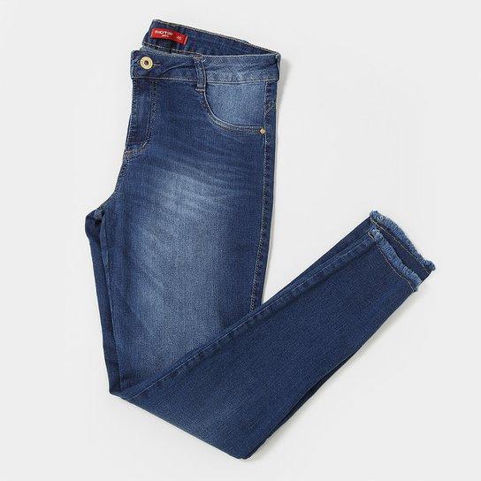 Calça Jeans Plus Size Biotipo Cintura Média Feminina - Compre Agora ... b390d6b62fa