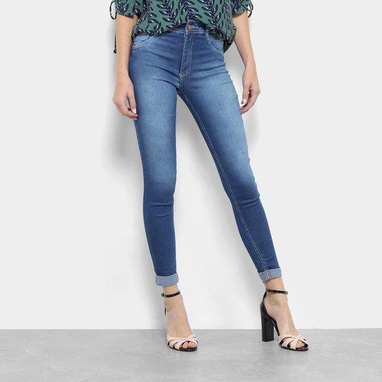 9ef542cb9 Calça Jeans Skinny Biotipo Cintura Média Barra Dobrada Feminina - Jeans