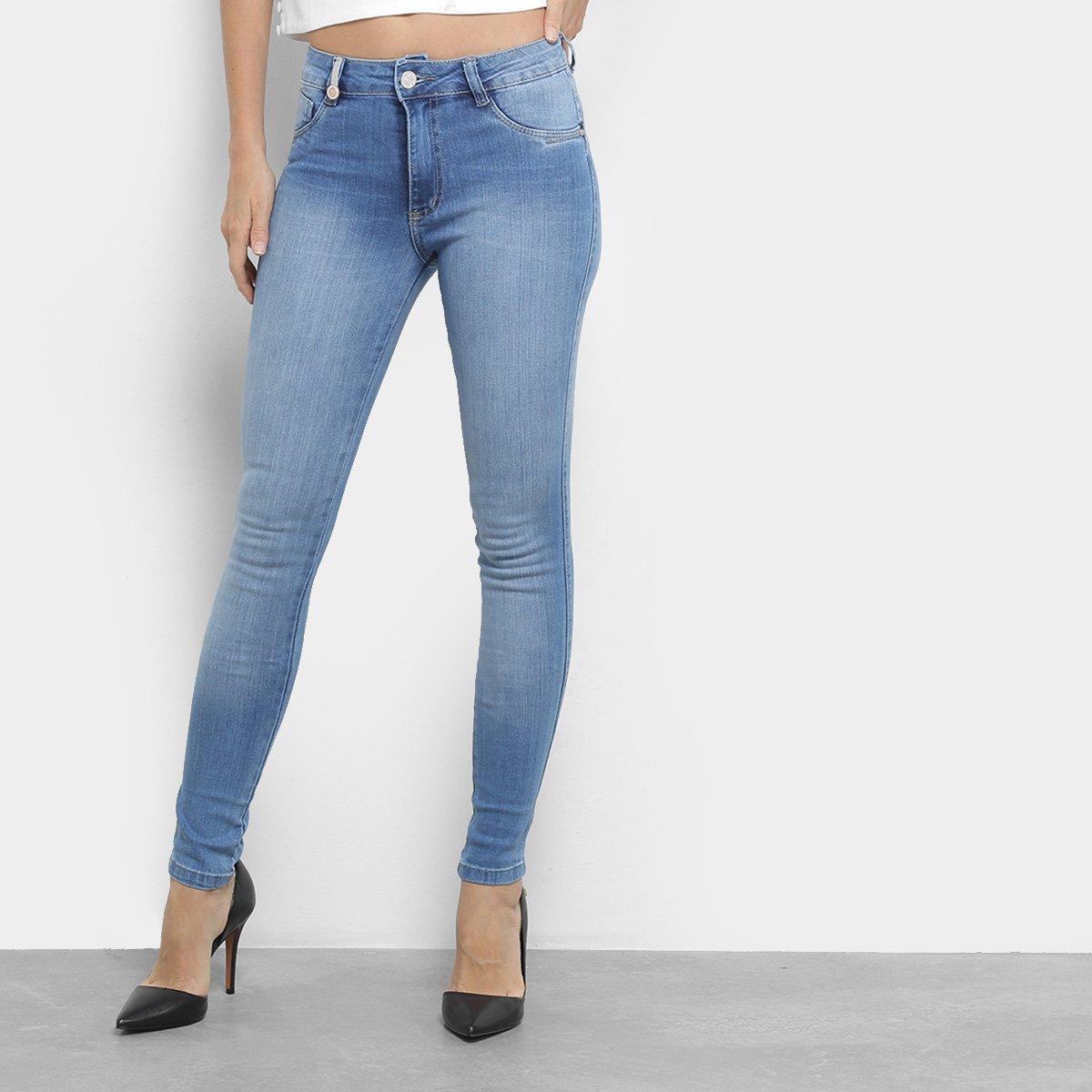 1ca606b01 Calças Jeans Skinny Biotipo Cintura Média Feminina