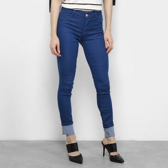 f47a5b7a4 Calça Jeans Skinny Biotipo Barra Dobrada Feminina - Compre Agora ...