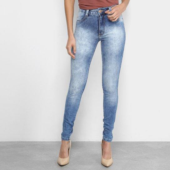 a66862feb Calças Jeans Skinny Biotipo Marmorizada Cintura Alta Feminina | Zattini