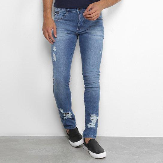 afa6358b47 Calça Jeans Skinny Biotipo com Puídos Masculina - Jeans - Compre ...