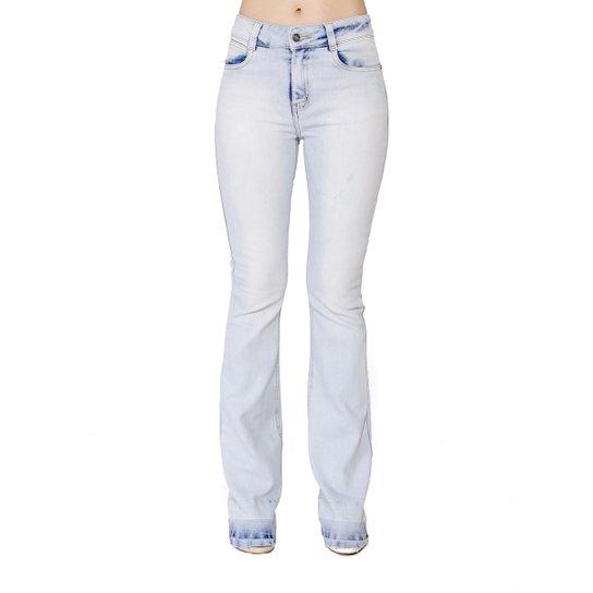 df602e694 Calça Jeans Flare Barra Handbook Feminina - Jeans - Compre Agora ...