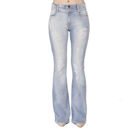 0ef4e6a67 Calça Jeans Flare Estonada Handbook Feminina - Jeans | Zattini