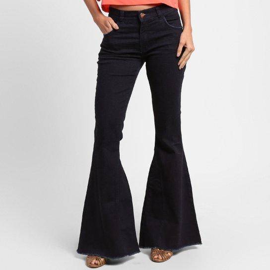 a1b300af9 Calça Jeans Disparate Flare Cintura Alta | Zattini