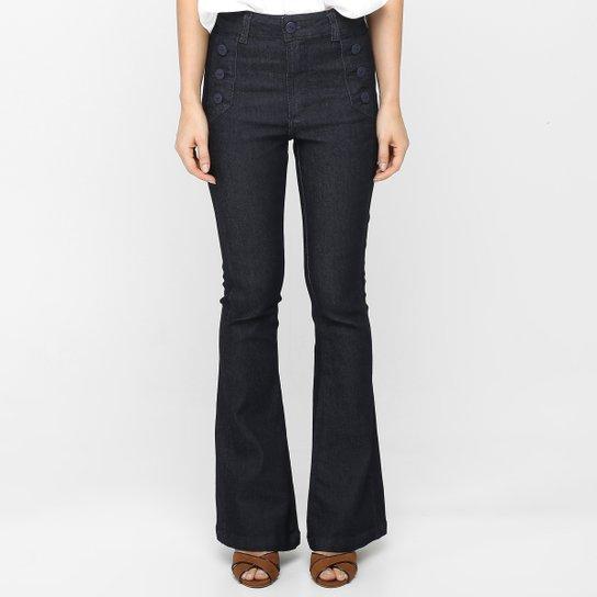 9ee8d667c Calça Jeans Zune Flare Botões - Compre Agora | Zattini