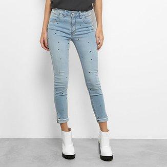 8d1cc361f Calça Jeans Skinny Zune Sabrina Sato Feminina