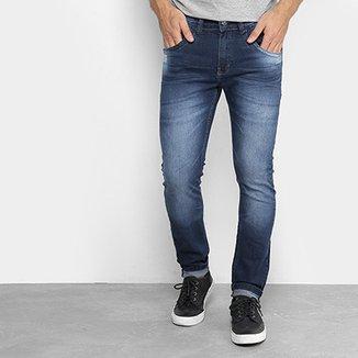 a7ef045a9 Calça Jeans Skinny Zune Estonada Suave Masculina