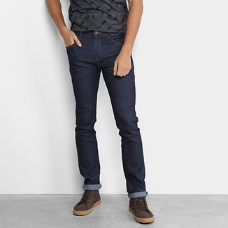 ac6ead73a Calça Jeans Skinny Coca-Cola Escura Masculina