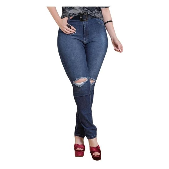 9803dd1ac Calça Jeans Skinny Quintess Plus Size Feminina - Compre Agora | Zattini