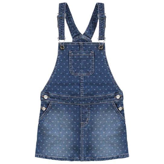 098d31198 Macacão Jeans Infantil Milon Salopete Estampado Feminino | Zattini