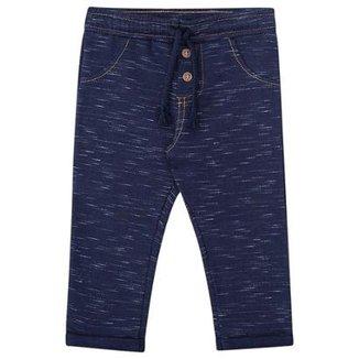 5df91168e Calça Bebê Luc.Boo Moletom Jet Imita Jeans Masculino