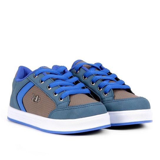 93ab79dd32 Tênis Infantil Via Vip Street Masculino - Jeans