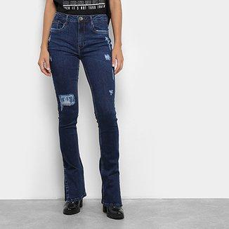 d629fbeb4a Calça Jeans My Favorite Thing (s) Boot Cut High Feminina