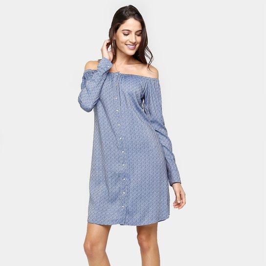 13605e54a Vestido Gup's Jeans Chemise Ombro A Ombro | Zattini