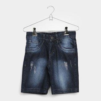 8372a2f9c4c Bermuda Jeans Infantil Grifle Masculina