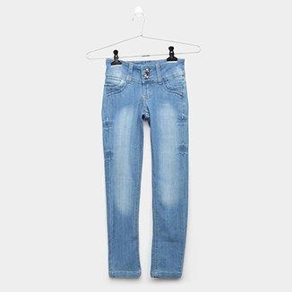 6c8be840a Calça Jeans Infantil Grifle Clara Feminina