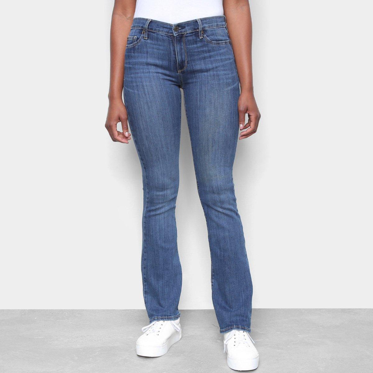 Calça Jeans GAP Fashion Curta Feminina